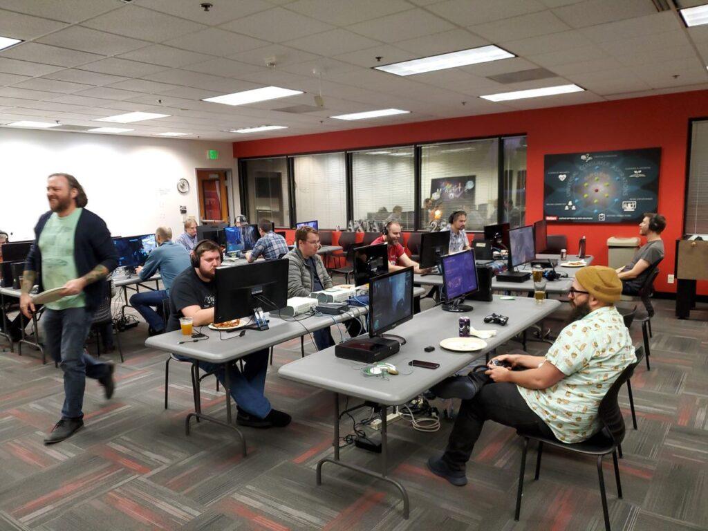 LAN Party - Training Room